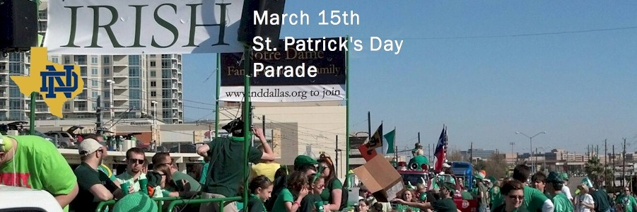 Mar. 15th - St. Patrick's Day Parade on Greenville Aveneue